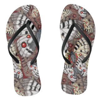 Apollo Butterfly Madness Flip Flops