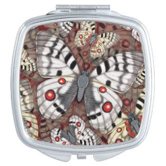 Apollo Butterfly Makeup Mirror