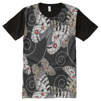 Apollo Butterfly Swirl All-Over Print T-Shirt