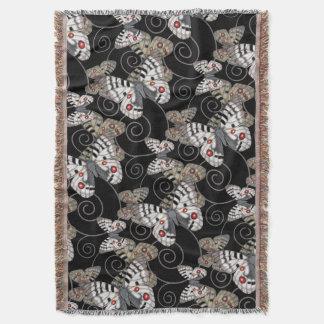 Apollo Butterfly Throw Blanket