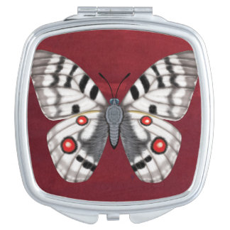 Apollo Butterfly Travel Mirror
