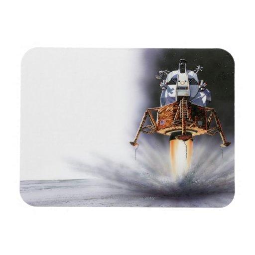 Apollo Eagle Lunar Module Vinyl Magnets