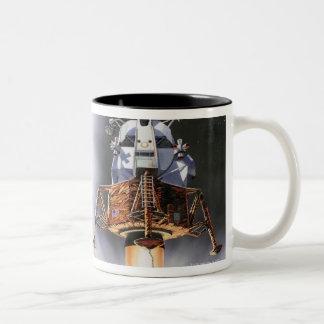 Apollo Eagle Lunar Module Two-Tone Coffee Mug