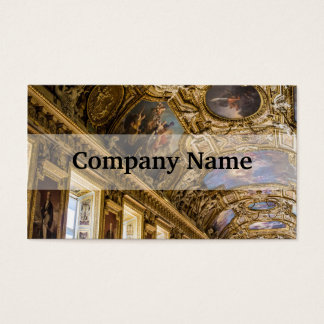 Apollo Gallery Louvre, Paris Photograph Business Card