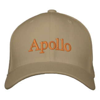 Apollo hat embroidered hats