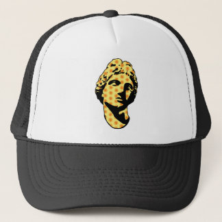 Apollo marble statue trucker hat