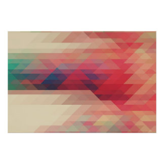 Apollo Modern Geometric Pattern Poster