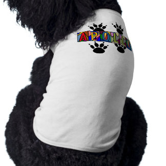 APOLLO ~ PERSONALIZED BIG LETTER PET-WARE FOR DOGS SHIRT
