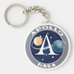 Apollo Program Logo Key Chain