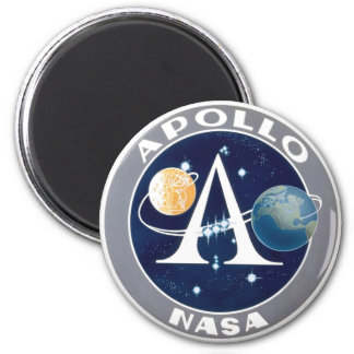 Apollo Program Logo Fridge Magnets