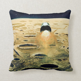 Apollo Program - Moon Mission Artist Concept Cushion
