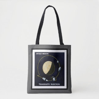 Apollo Program - Moon Mission Artist Concept Tote Bag