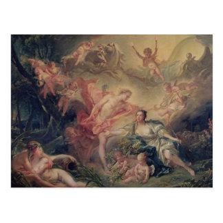 Apollo Revealing his Divinity Postcard