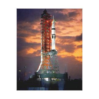 Apollo-Soyuz Test Project Gallery Wrap Canvas