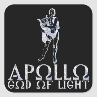 Apollo Square Sticker