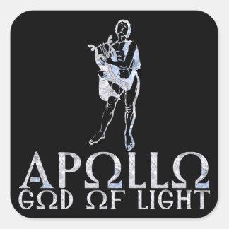Apollo Square Sticker