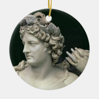 Apollo Tended by the Nymphs, detail showing the he Christmas Ornament