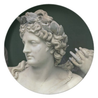 Apollo Tended by the Nymphs, detail showing the he Plates