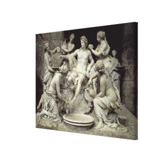 Apollo Tended by the Nymphs, intended for the Grot Canvas Print