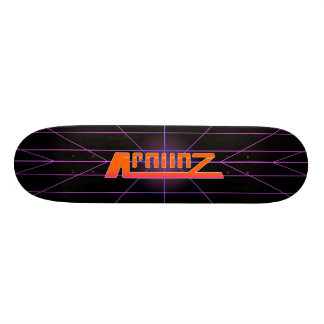 APOLLOZ RETRO GRAPHIC SKATE BOARD DECK