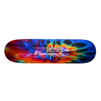 Apolloz Tie Dye Graphic Skate Board Decks