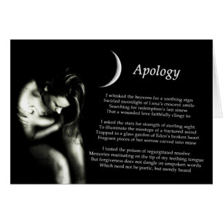 Apology Card