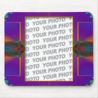 Apophysis fractal decor + your photo mouse pad