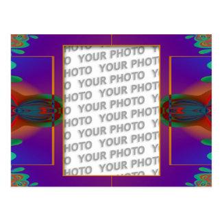 Apophysis fractal decor + your photo post cards