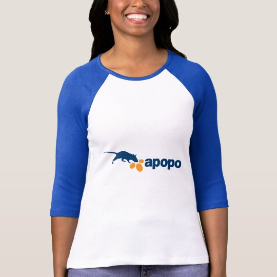 APOPO Women's Baseball T-Shirt