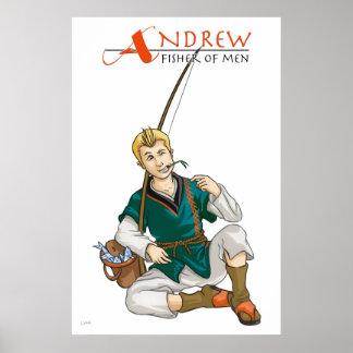Apostle Andrew Christian Poster