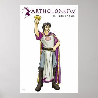 Apostle Bartholomew Christian Poster