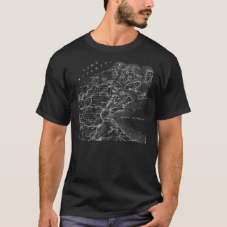 Apostle Islands Map Tee