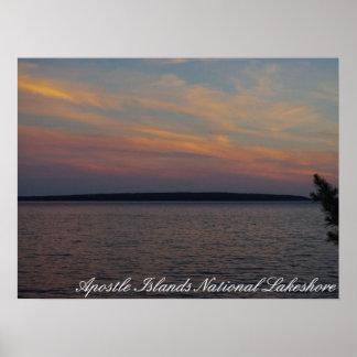Apostle Islands National Lakeshore Poster