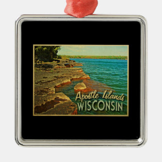 Apostle Islands Wisconsin Christmas Ornament