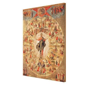 Apostle Preaching Gallery Wrap Canvas