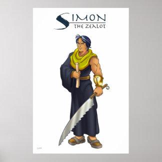 Apostle Simon Christian Poster