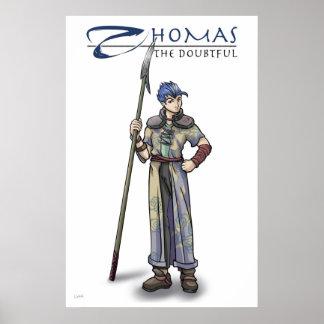 Apostle Thomas Christian Poster