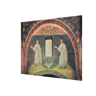 Apostles 5th century mosaic canvas print