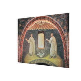 Apostles, 5th century (mosaic) canvas print