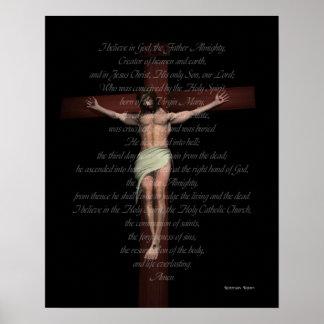 APOSTLES CREED PRINT