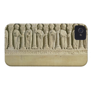 Apostles under Arcades, carved relief, c.1150 (sto iPhone 4 Case-Mate Case