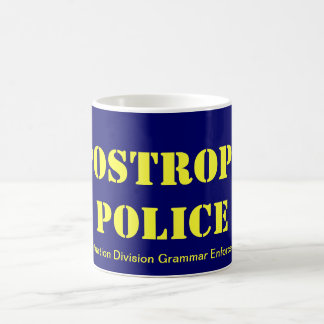 Apostrophe Police Coffee Mug