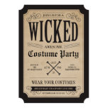 Apothecary Halloween Party Invite 13 Cm X 18 Cm Invitation Card