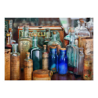 Apothecary - Remedies for the Fits Posters