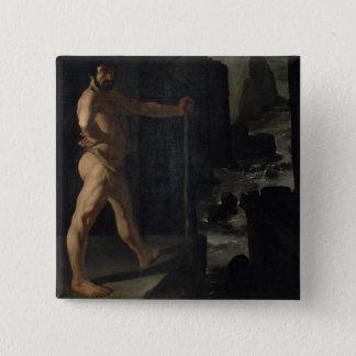 Apotheosis of Delacroix 15 Cm Square Badge
