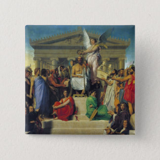 Apotheosis of Homer, 1827 15 Cm Square Badge