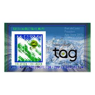App Store 2D llc Card Business Card Templates