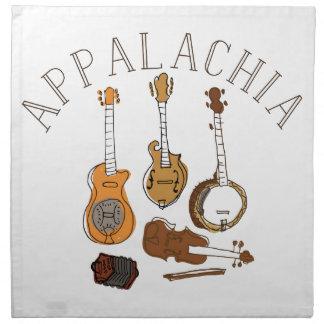 Appalachia Instruments Cloth Napkin