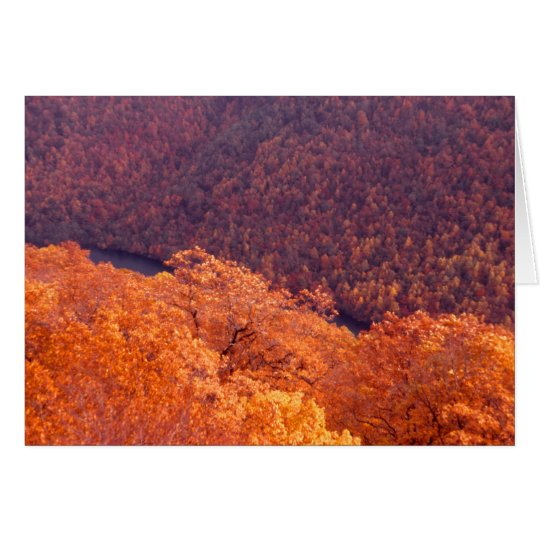 Appalachian Autumn Card