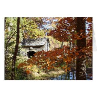 Appalachian Barn Card